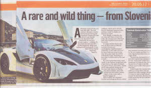 sunday times coverage May 2012