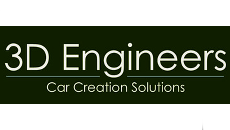 3d engineers logo